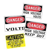 Product Safety / Liability Decals